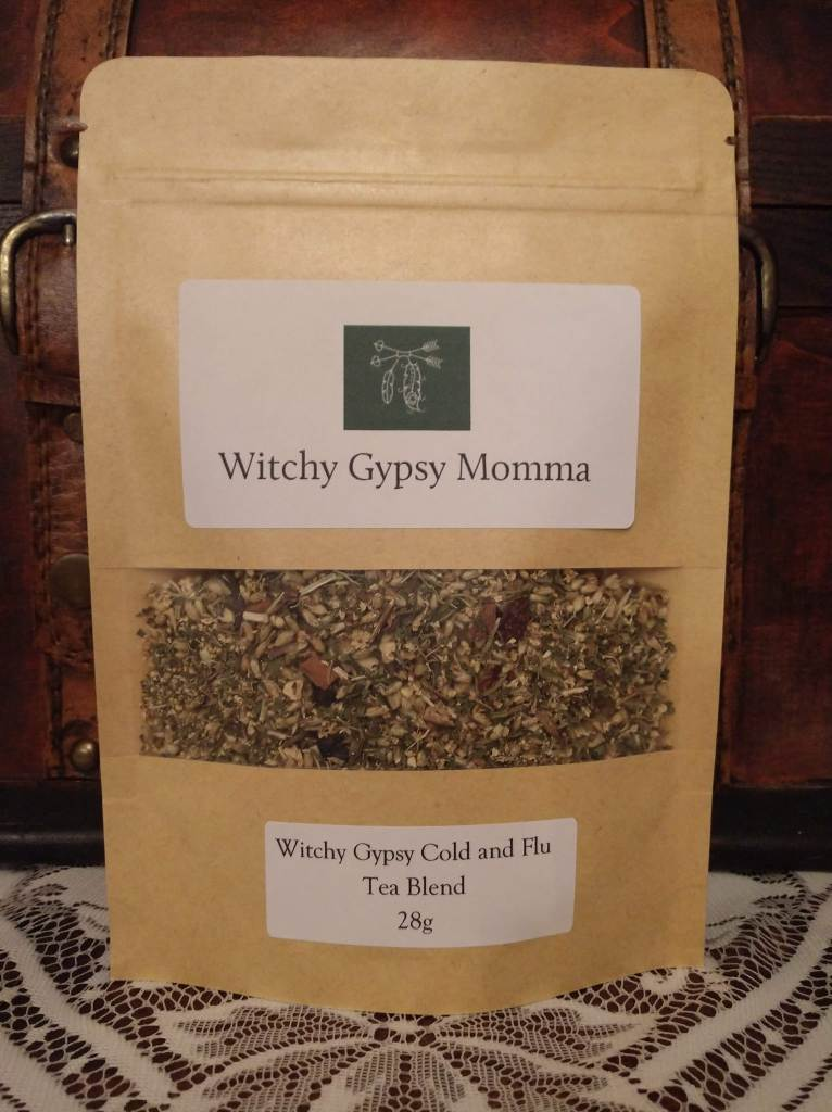 Witchy Gypsy Cold and Flu Tea Blend