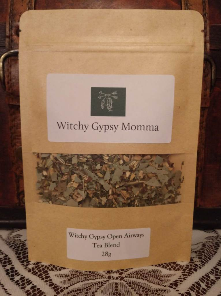Witchy Gypsy Open Airways Tea Blend